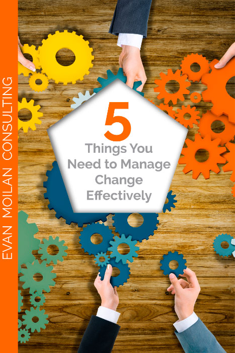 5 Ways to Manage Change Book Cover