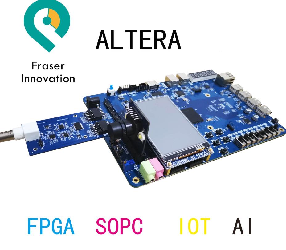 Altera RISC-V SoC AI FPGA Development Board Educational Platform