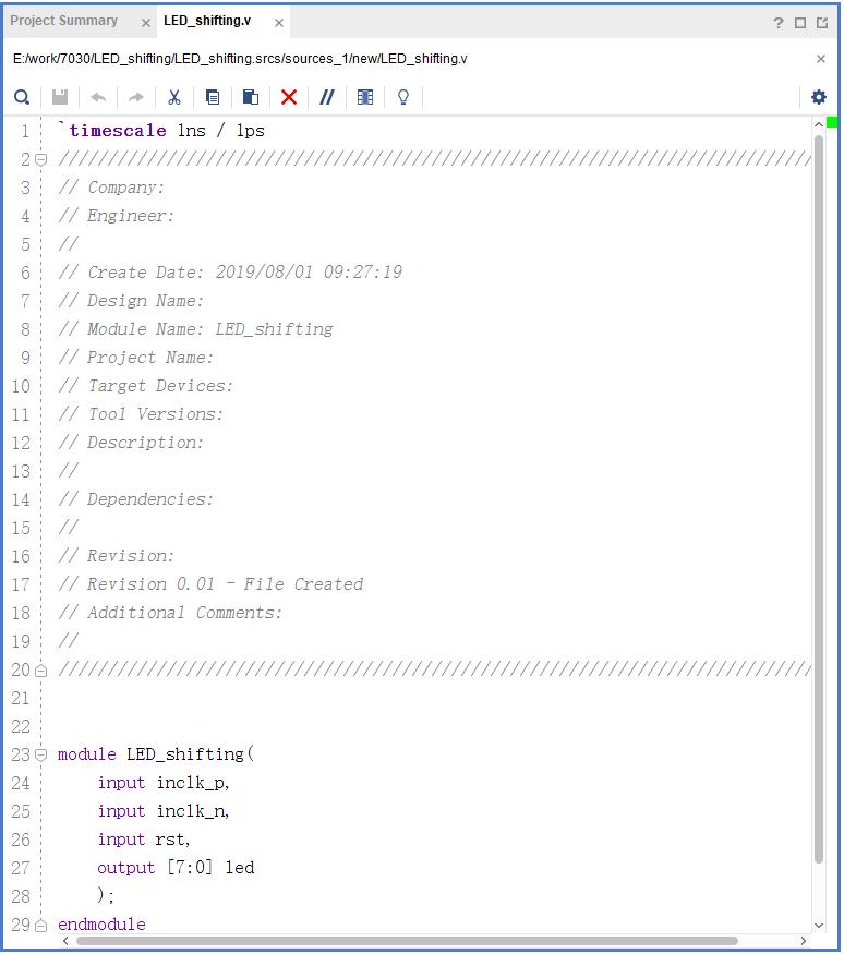 Design file interface