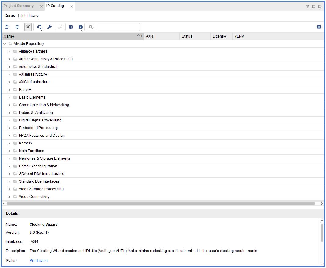 IP core content window