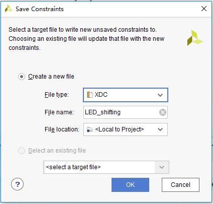 Save Constraints dialog box