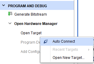 Execute Auto Connect command