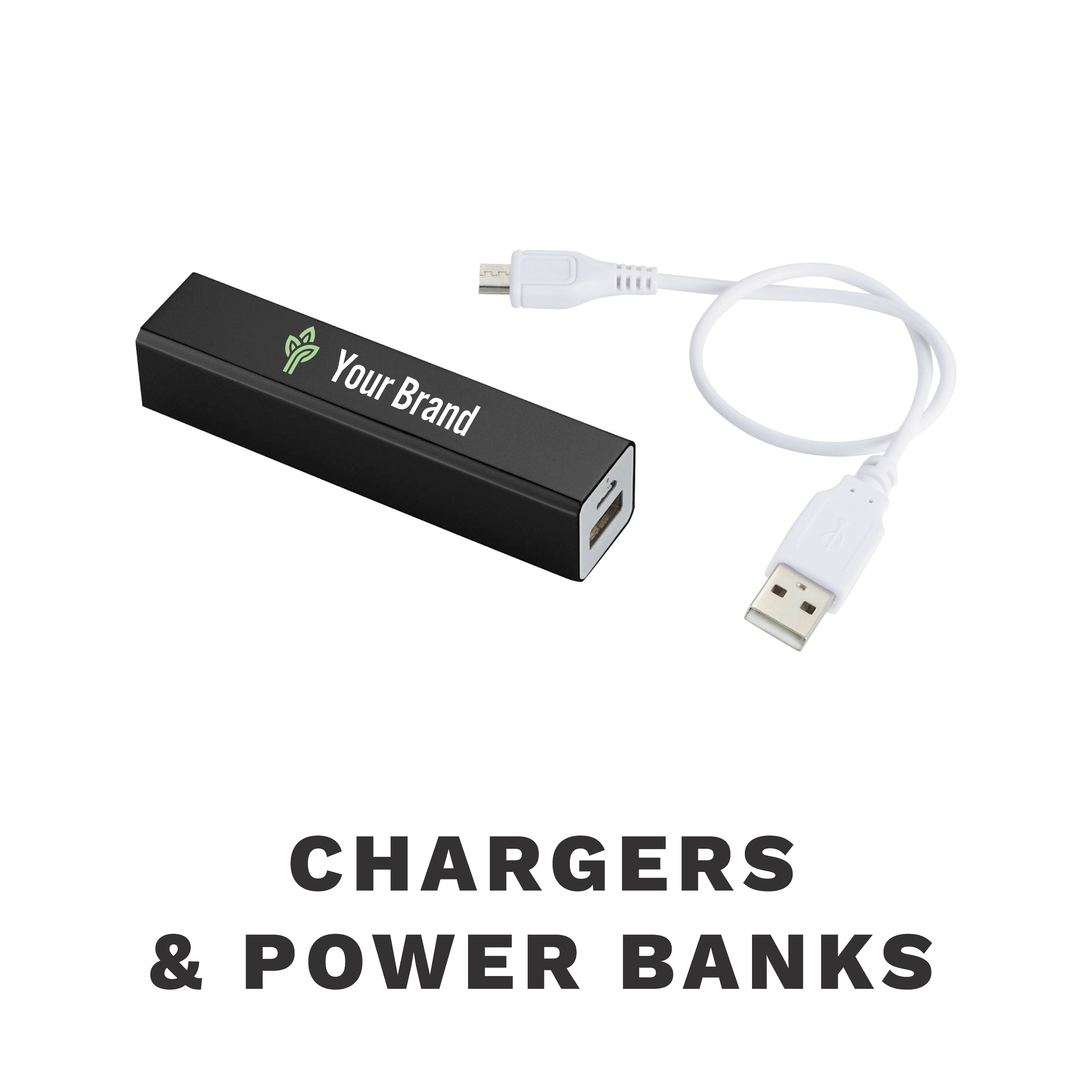 Your brand portable charger