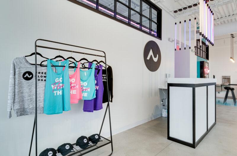 custom branded merch for gyms and yoga studios