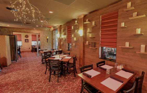 Interior at da Vinci's Table Burlington