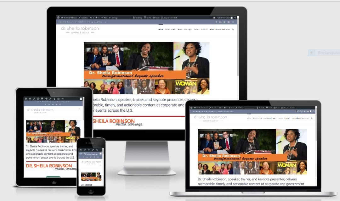 Vision Marketing Speaker website