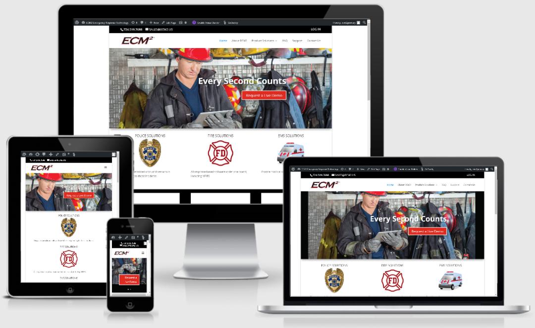 Vision Marketing Tech Company website