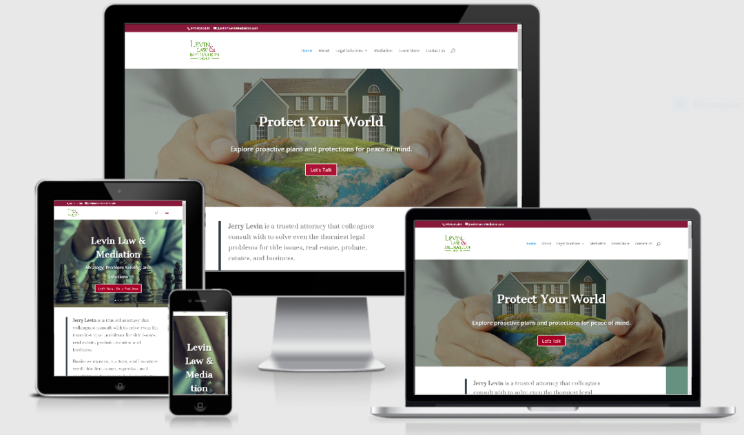 Vision marketing website for law firm