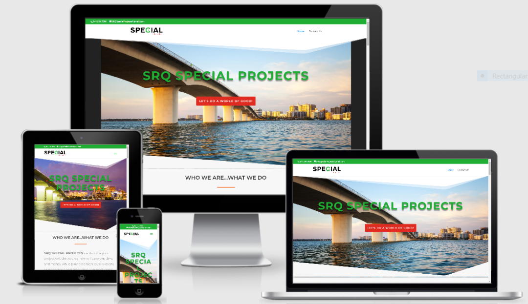 Vision Marketing One Page Professional Site