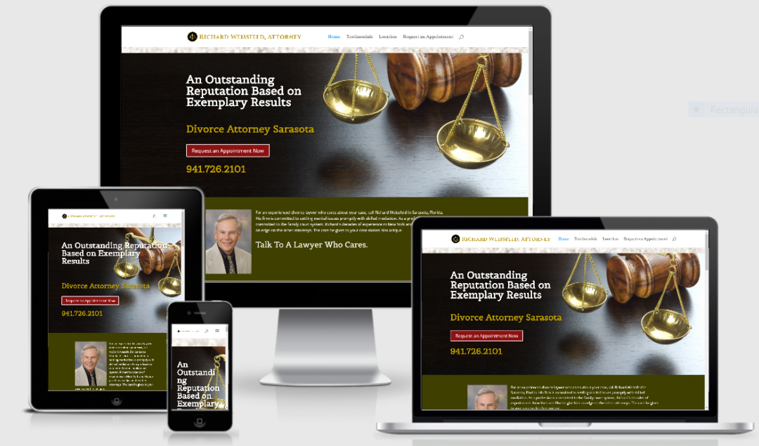 Vision Marketing Law firm website
