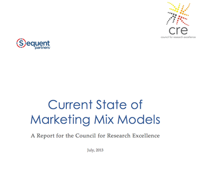 Current State of Marketing Mix Models