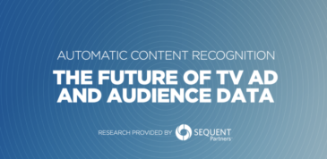 Automatic Content Recognition : The Future of TV and Audience Data