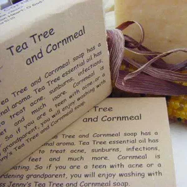 Tea Tree Cornmeal Soap