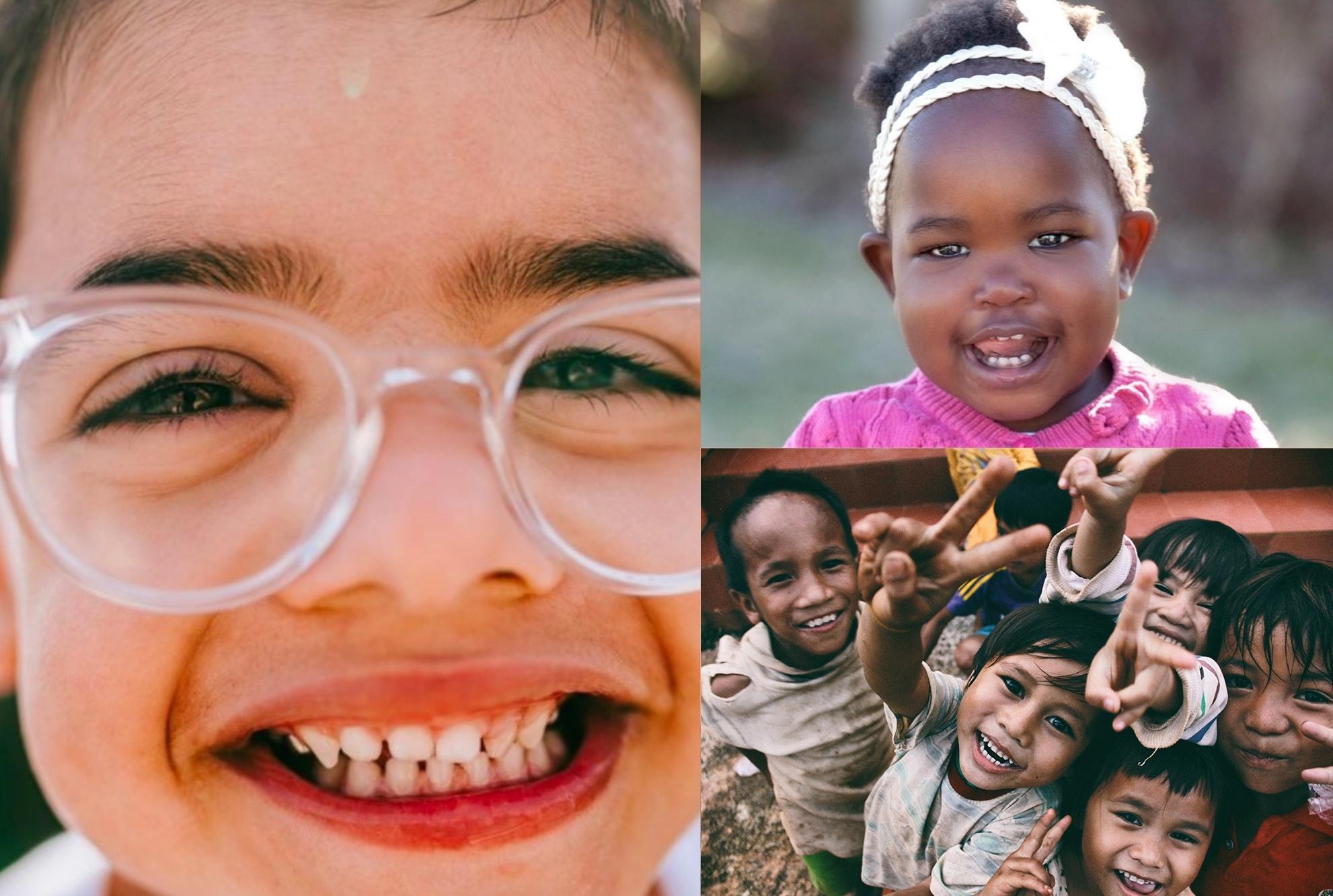 international adoption photos collage