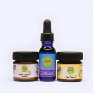 Full Spectrum CBD Hemp 3 Piece Face Kit Lavender