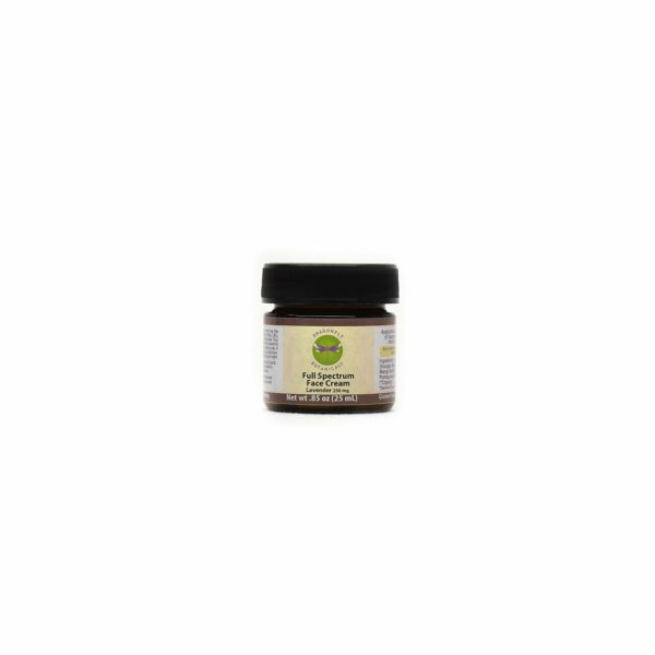 .85oz Full Spectrum CBD Hemp FACIAL MOISTURIZING CREAM: Lavender