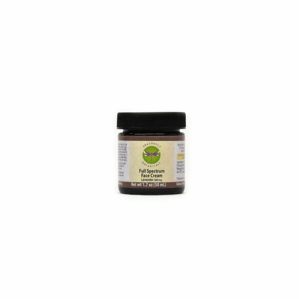 1.7oz Full Spectrum CBD Hemp FACIAL MOISTURIZING CREAM: Lavender