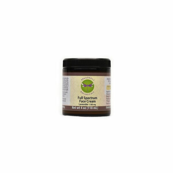 4oz Full Spectrum CBD Hemp FACIAL MOISTURIZING CREAM: Lavender