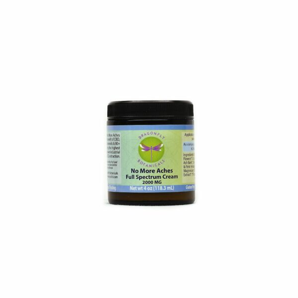 4oz Full Spectrum CBD Hemp No More Aches CREAM Original