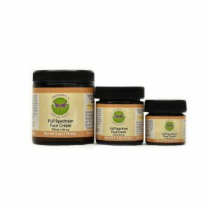 Full Spectrum Hemp CBD Face Cream: Citrus - Moisturizing Cream