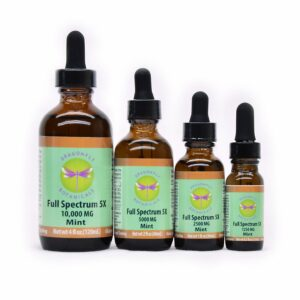 Full Spectrum CBD Hemp Oil 5X: Mint