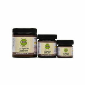 Full Spectrum Hemp CBD Face Cream: Lavender - Moisturizing Cream