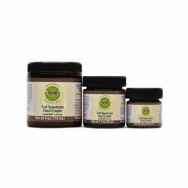 Full Spectrum CBD Hemp FACIAL MOISTURIZING CREAM: Lavender