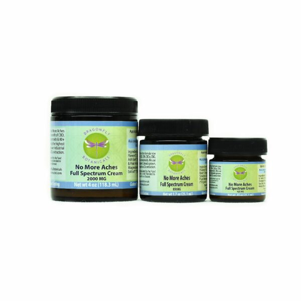 Full Spectrum CBD Hemp No More Aches CREAM Original