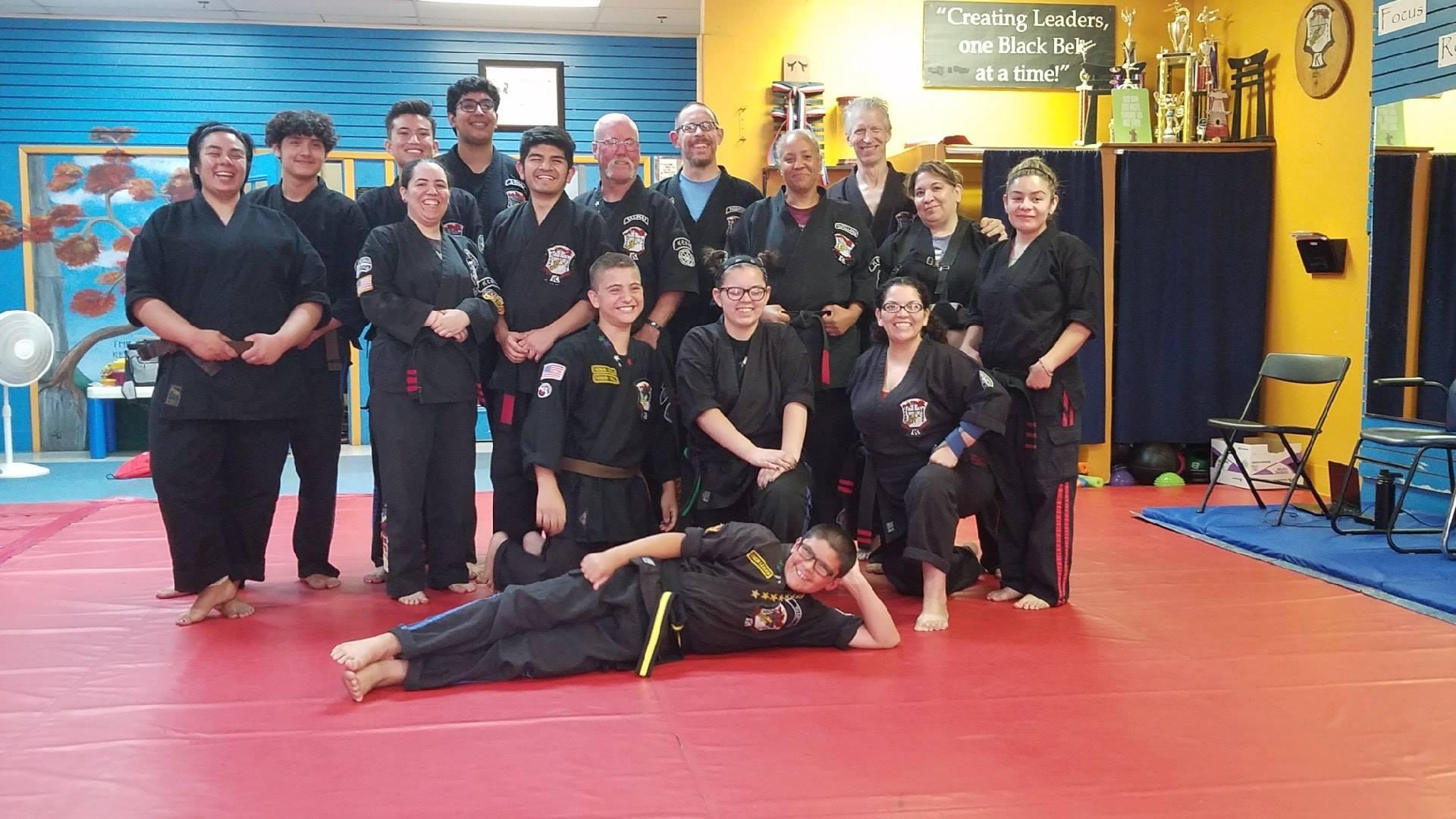 Fresno Kempo Karate Staff