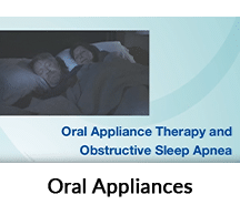 Oral appliances