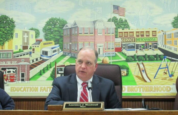 New Hyde Park Mayor Lawrence Montreui