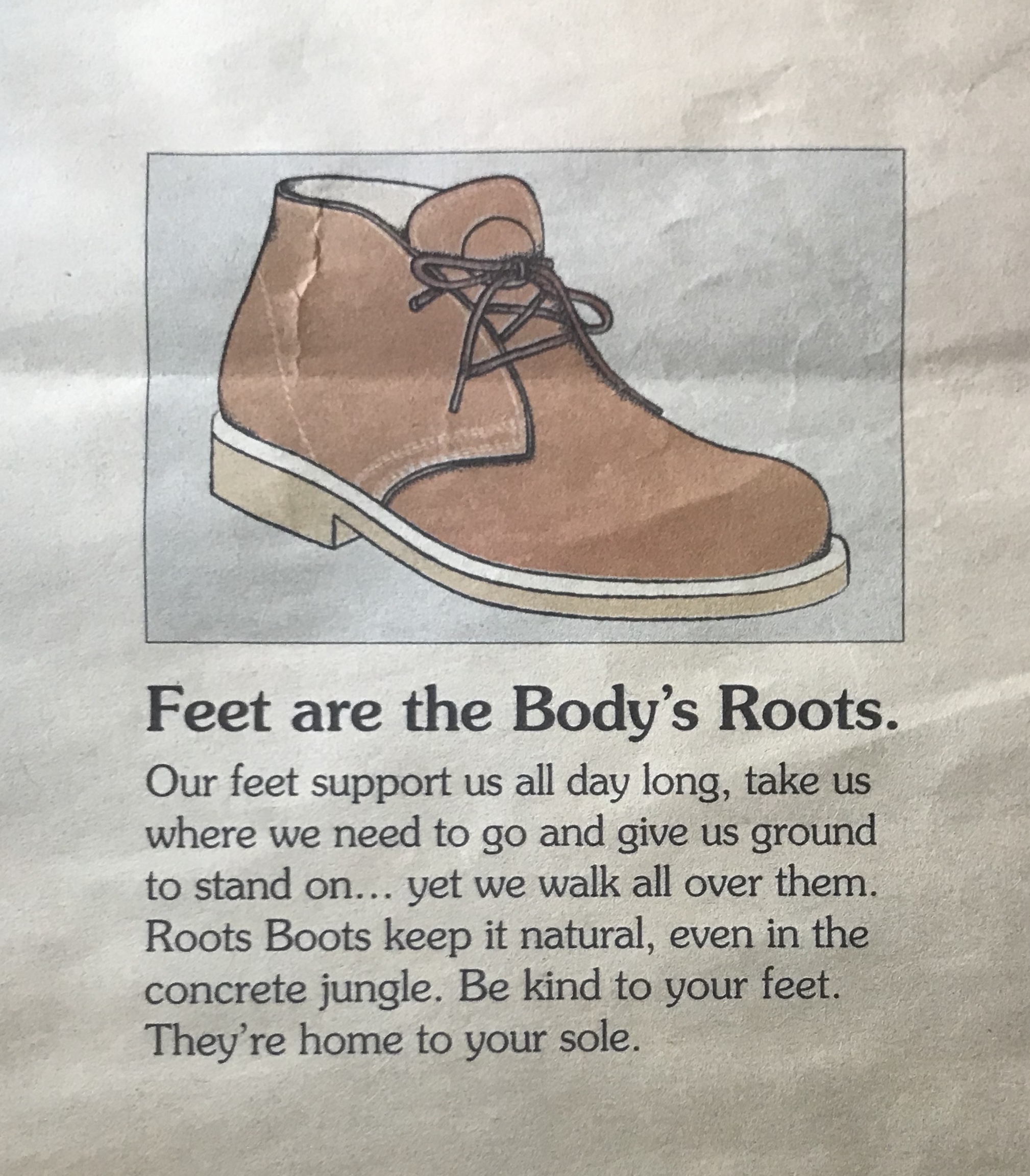 Roots Canada Ad Campaiign
