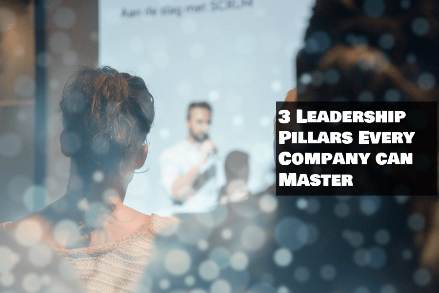 3 Leadership Pillars Every Company can Master