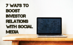 Boost Investor Relations with Social Media