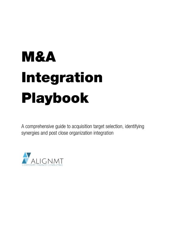 M&A Integration Playbook