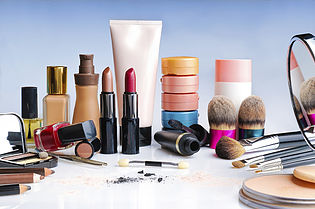 makeup with hazardous chemicals