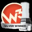 Silver W3 Award Winner