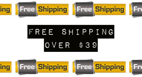Free Shipping $39