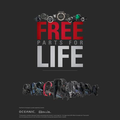 Hollis Oceanic Parts for Life