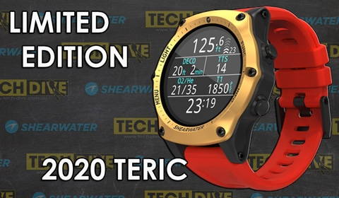 Shearwater Teric 2020 Limited Edition