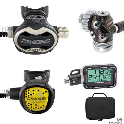 Cressi T10SC Master Package