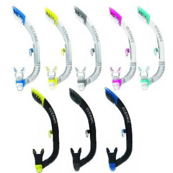 Oceanic Ultra Dry 2 Snorkel - Colours