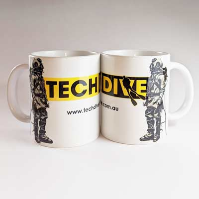 Hard Hat Diver Coffee Cup