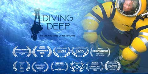 Diving Deep Mike deGruy