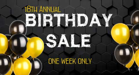 18th Birthday Sale