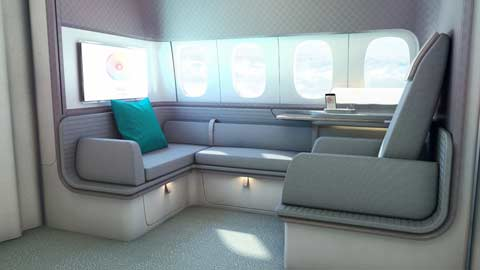 Cathay B777 First Class