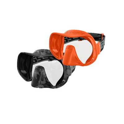 Scope Mask - Grey Camo - Rescue Orange