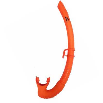 Zeagle Tango Snorkel Rescue Orange