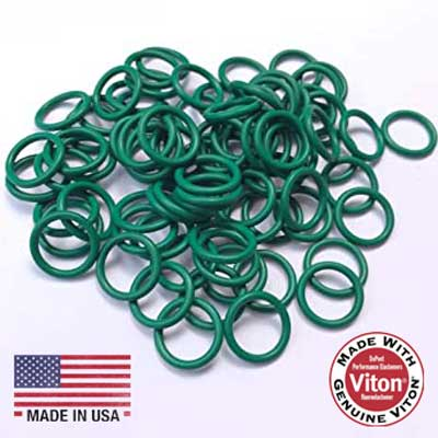 Viton Orings Green