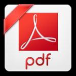 I am a Icon to represent pdf file type